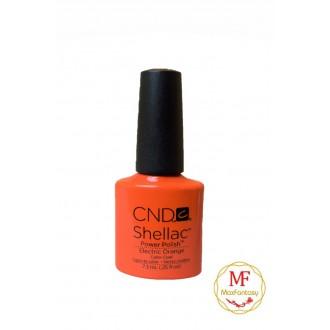 Лак CND Shellac (цвет Electric Orange), 7.3ml