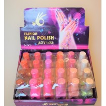 Лак Fashion Nail Polish (цвета mix 24шт) ТОН C
