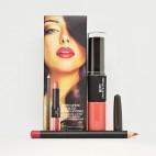 Matte Lipstick & Lipgloss Matte Lip Pencil (цвета mix 12шт)  Тон В