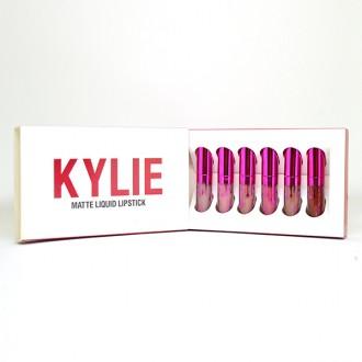 Kylie Matte Luquid Lipstick (цвета mix 6 шт)