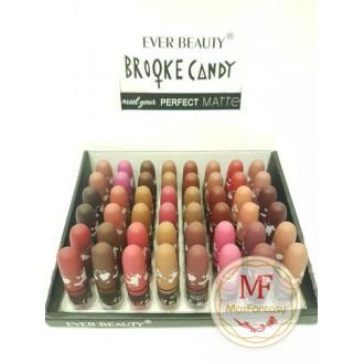 """Блеск для губ """"Ever Beauty Perfect Matte Lipstick"""" (цвета mix 48 шт)"""