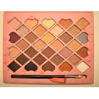 Тени Huda Beauty 32 цвета с зеркалом