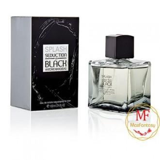 Antonio Banderas Splash Seduction Black, 100ml Man