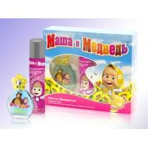 Подарочный набор Маша и Медведь Мечты Сбываются! (детская душистая вода 35 мл+лак д/волос 75 мл)