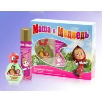 Подарочный набор Маша и Медведь Волшебная Страна (детская душистая вода 35 мл+лак д/волос 75 мл)