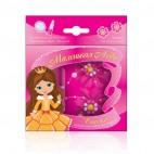 Подарочный набор Маленькая леди Сказка(бальзам д/губ+заколки 2шт)