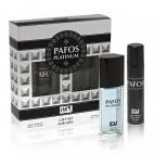 под.наб. Pafos Platinum муж (туалетная вода 100 мл+ дезодорант 75 мл)