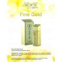 СЛИТОК FINE GOLD 100мл туалетная вода мужская
