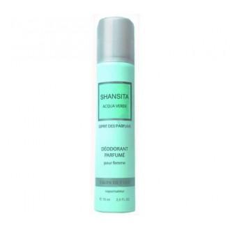 """Дезодорант парфюмированный для женщин Дух духов """"Шансита свежая вода""""/""""SHANSITA Acqua verde"""" 75 мл"""