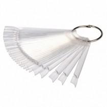 Палитра для лака с кольцом (прозрачная)