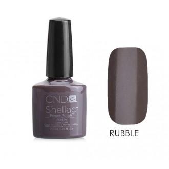 Лак CND Shellac (цвет Rubble), 7.3ml (СЕРО-КОРИЧНЕВЫЙ)