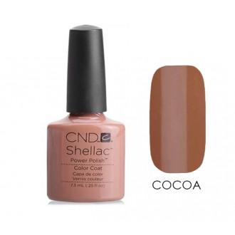 Лак CND Shellac (цвет Cocoa), 7.3ml (КОФЕ С МОЛОКОМ)