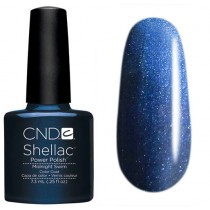 Лак CND Shellac (цвет Midnight Swim), 7.3ml (Тёмно-синий)