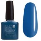 Лак CND Shellac (цвет Blue Raptiture), 7.3ml (Кобальтовый)