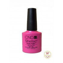 Лак CND Shellac (цвет Hot Pop Pink), 7.3ml