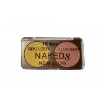 "Хайлайтер ""Naked 8 New Glow (Bronzer&Illuminator) ТОН 1"""