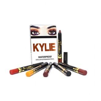 Kylie Waterproof Eye & Eyeshadow Pencil (цвет mix 6шт)