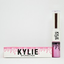 Kylie Matte Lipstick & Lipgloss 2in1 (цвета mix 12шт)  Тон В
