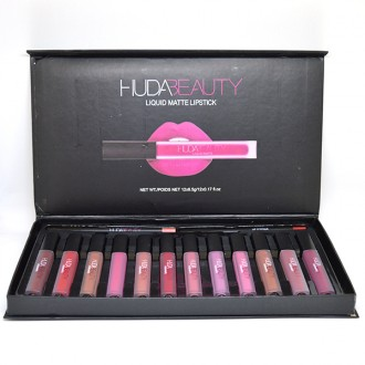 Huda Beauty Liqud Matte Lipstick 14in1