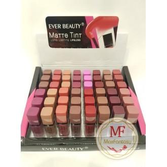 """Помада """"Ever Beauty Matte Tint Lopgloss"""" (цвета mix 48 шт)"""