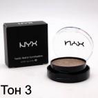 Тени NYX Nude Matte Eyeshadow (ТОН 3)