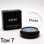 Тени NYX Nude Matte Eyeshadow (ТОН 7)