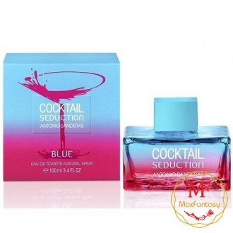 Antonio Banderas Cocktail Seduction Blue, 100ml