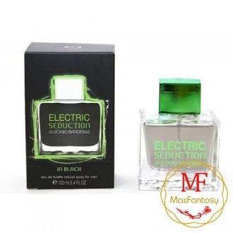 Antonio Banderas Electric Seduction In Black, 100ml