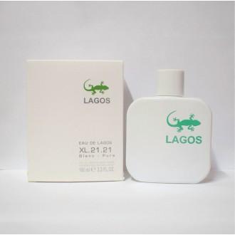 Lagos XL.21.21 Blanc, 100ml (Lacoste L.12.12 Blanc)