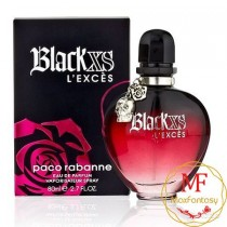 Paco Rabanne Black XS L'exces, 80ml